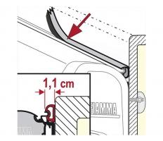 Гумено уплътнение за тента Fiamma