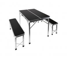 Сгъваема маса с пейки Camp4