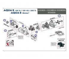 Резервни части за хидрофор Aqua 8