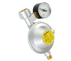Редуцир вентил с манометър 30 мбара 0.8-1.2 кг/ч