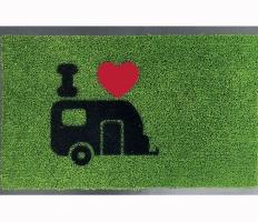 Постелка зелена с каравана