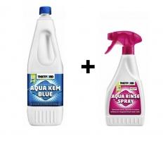 Препарат химическо WC и спрей за почистване