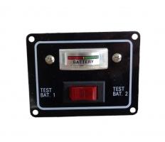 Превключвател и тестер за акумулатори 12 V