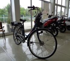 Велосипед Спарта с бензинов двигател