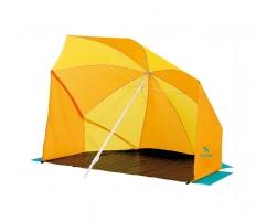 Плажен чадър със страници