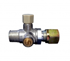 Тестови клапан със спирателно устройство