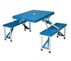 Сгъваема маса със седалки